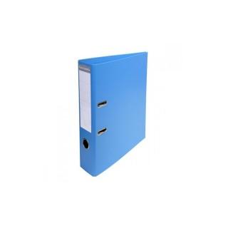 CLASSEUR A LEVIER D/L S/P BLEU CLAIR PVC 70MM