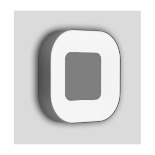 Ublo plafonnier carré 16w