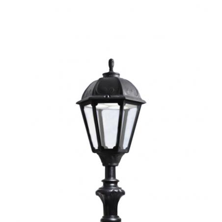 Unite, lampadaire petit led de 6,5 w pour sol de couleur noire