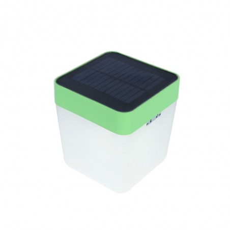 Table cube lampe solaire portable