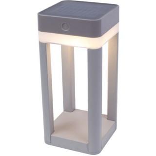 Table cube lampe solaire ouverte