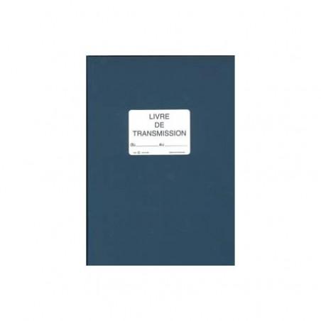 lebon et vernay sp620 registre livre de transmission 150 pages format 21x29,7cm bleu