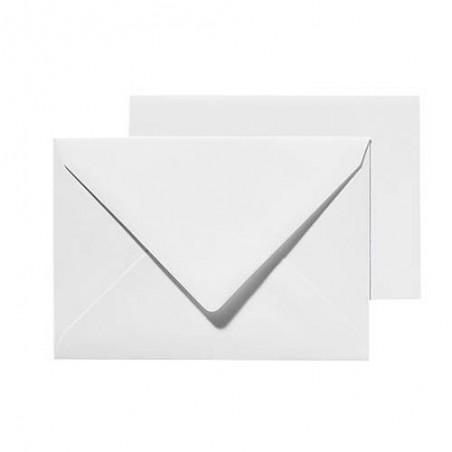 Enveloppe Blanche A6 x25 Pic