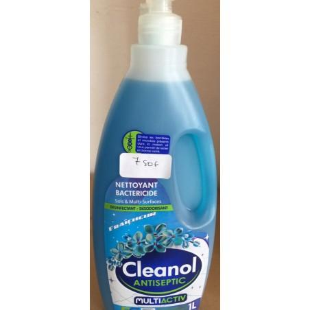 Cleanol antiseptic savon liquide et desodorisant fraicheur