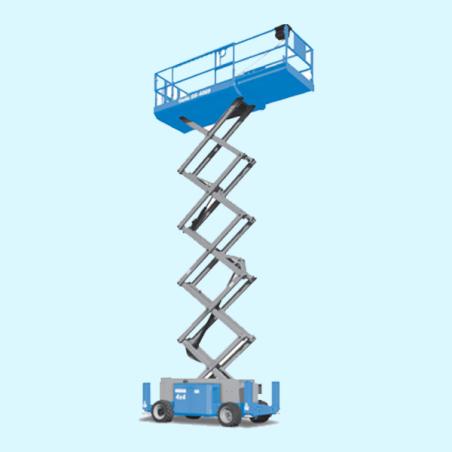 Nacellle ciseau elevateur 12m