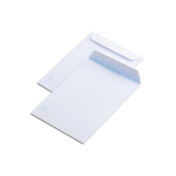 Carton pochette A5 blanc