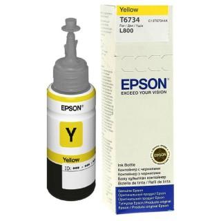 Cartouche EPSON T6734 Yellow ink bottle 70ml