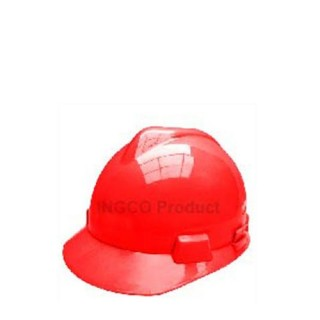 Casque De Chantier Rouge En Pp