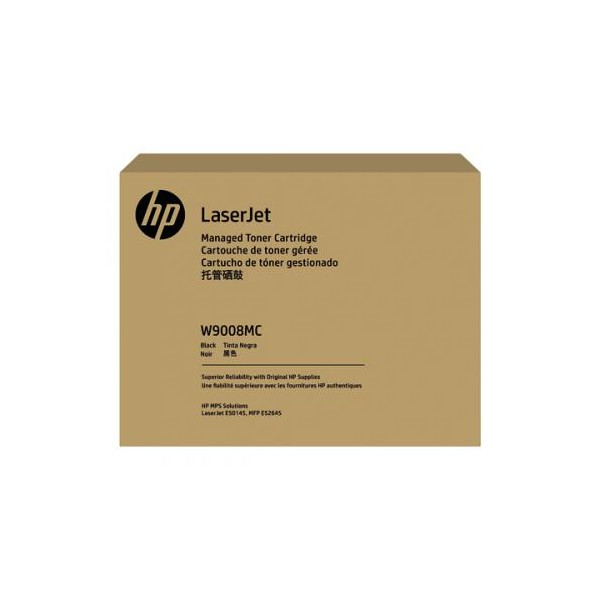 Toner HP Black Managed LJ Toner Cartridge W9008MC