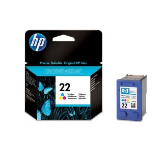 HP 21 Cartouche d'encre couleur   d'origine