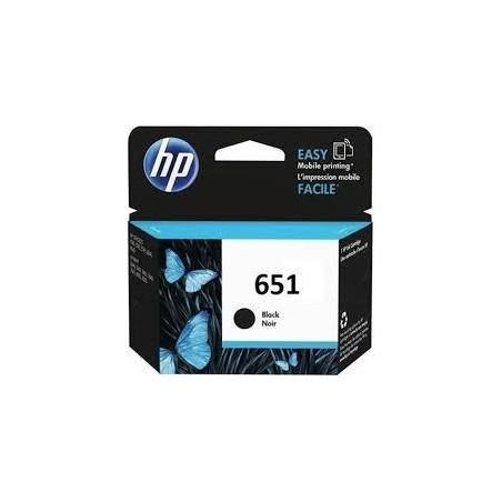 Cartouche HP 651-Noir