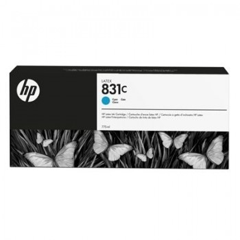 Cartouche HP Latex 831C - Bleu